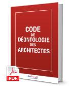 Visuel Code de déontologie des architectes