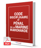 Visuel Code disciplinaire et pénal de la marine marchande