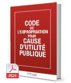 Visuel Code de l'expropriation pour cause d'utilité publique