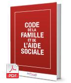 Visuel Code de la famille et de l'aide sociale
