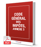 Visuel Code général des impôts, annexe 3, CGIAN3