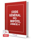 Visuel Code général des impôts, annexe 4, CGIAN4