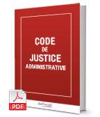 Visuel Code de justice administrative
