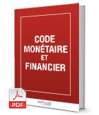 Visuel Code monétaire et financier