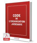 Visuel Code de l'organisation judiciaire