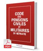 Visuel Code des pensions civiles et militaires de retraite