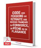 Visuel Code des pensions de retraite des marins français du commerce, de pêche ou de plaisance
