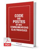 Visuel Code des postes et des communications électroniques