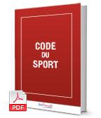 Visuel Code du sport