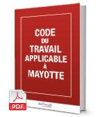 Visuel Code du travail applicable à Mayotte