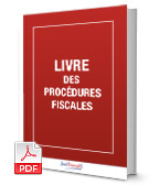 Visuel Livre des procédures fiscales